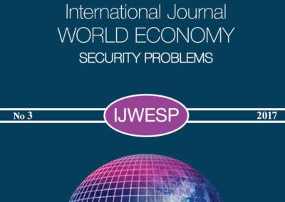 Международный журнал Мировая экономика проблемы безопасности